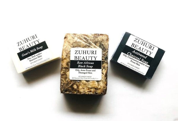 Zuhuri Activated Charcoal Soap